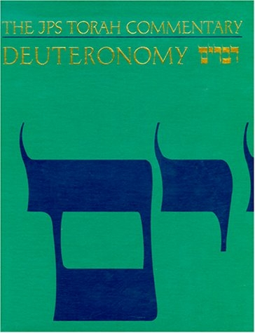 Deuteronomy : The Traditional Hebrew Text With the New Jps Translation