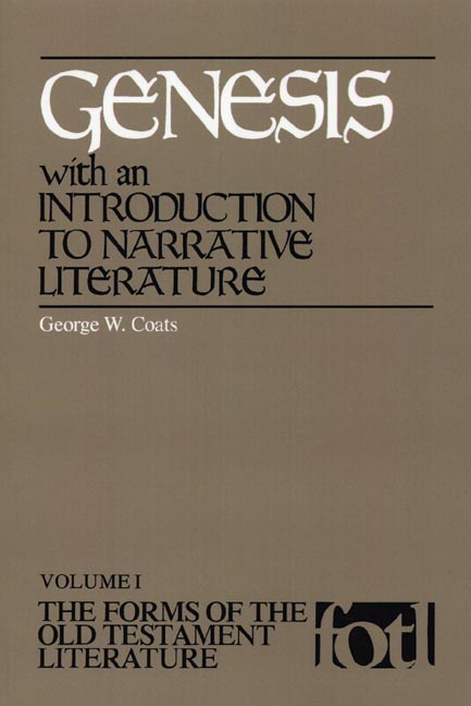 Genesis, with an Introduction to Narrative Literature