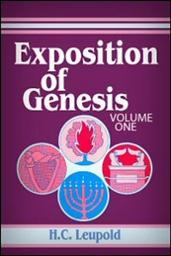 Exposition of Genesis, Vol. 1